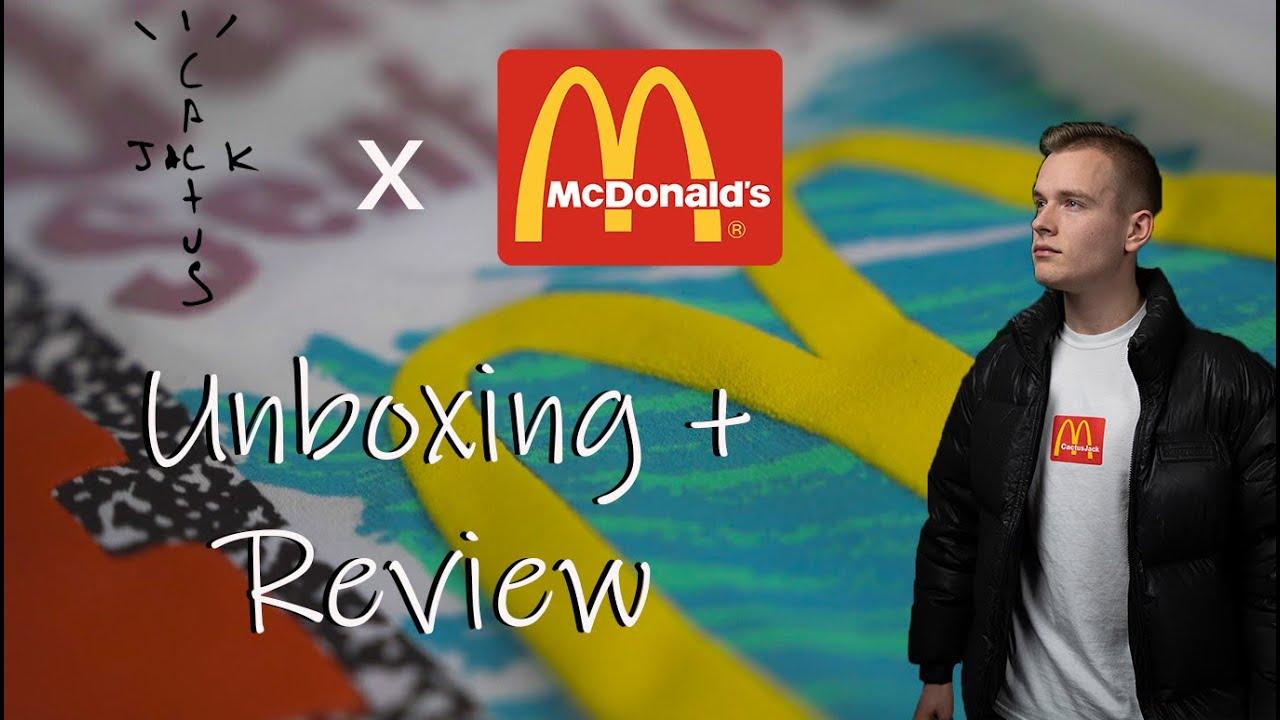 Travis Scott X McDonald's - Unboxing + Review (PART 1)