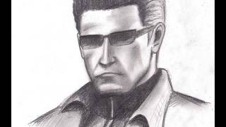 How to draw Albert Wesker - Resident Evil 5