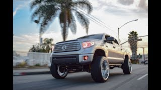 Toyota Tundra on 26x14 Intros!!!