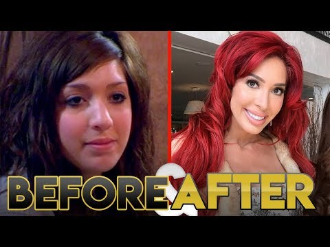 Farrah Abraham   Before & After   From Teen Mom to Ex on the Beach