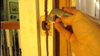 How to Repair a Door Jamb