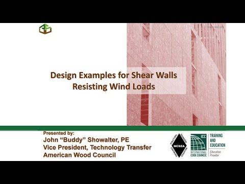 DES413 - Shear Wall Design Examples Webinar