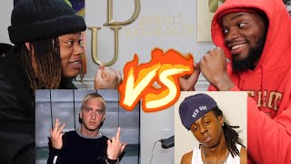 EMINEM .VS. LIL WAYNE | SONG BATTLE! EPISODE #1