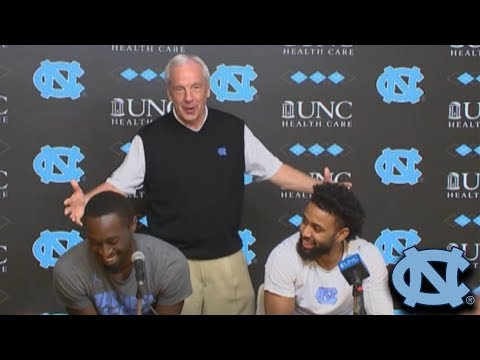 Roy Williams Crashes Theo Pinson's Presser