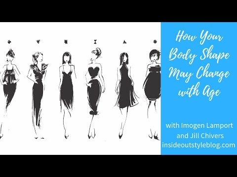 How Body Shapes Can Change with Age and Weight