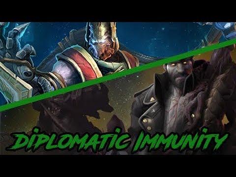 SC2 Co-Op Weekly Mutation: Diplomatic Immunity