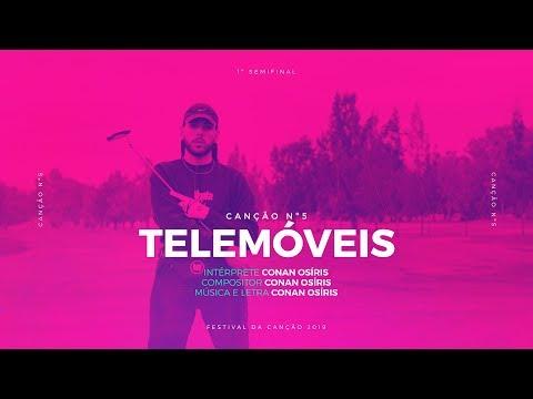 Conan Osíris - Telemóveis - 1ª Semifinal | Festival da Canção 2019