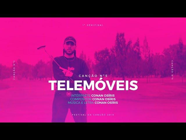 Conan Osíris - Telemóveis - 1ª Semifinal   Festival da Canção 2019