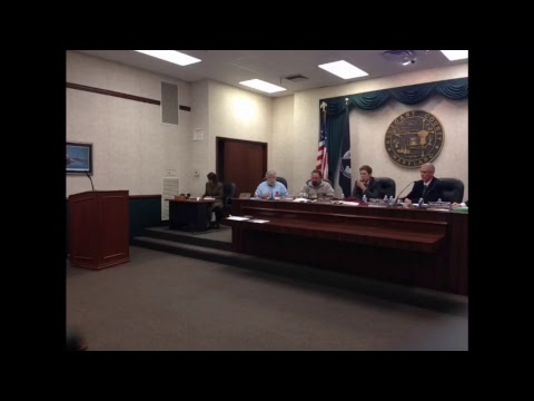 Allegany County Board of County Commissioners - October 26, 2017 Public Meeting