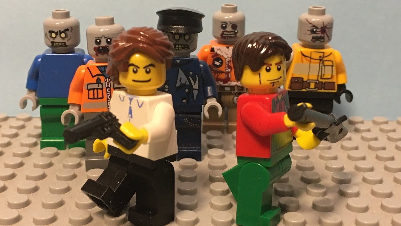 LEGO Zombie Apocalypse 2017 S01E01 - The Outbreak - YouTube