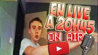 ! INFOS !  | JE SUIS EN LIVE CE SOIR ! | QUAND JE FAIS LES LIVES ?