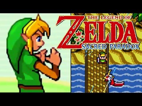 POKEMON X ZELDA - The Legend of Zelda Sacred Paradox Rom Hack Showcase
