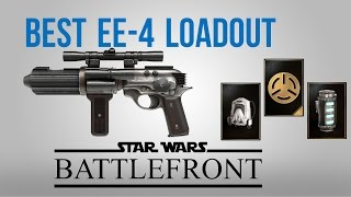 The Best Loadout I came up with is: Blaster: EE-4 Trait: Bezerker S...