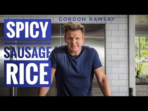 Spicy Sausage Rice Recipe | Gordon Ramsay | Cooking On Budget | Almost Anything - YouTube