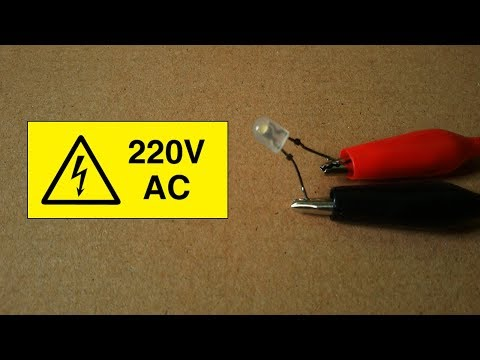 What Will Be Happen If Connect Led Light To 220v AC