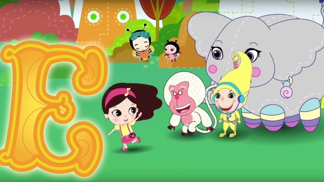 Download Letter E - Olive and the Rhyme Rescue Crew | Learn ABC | Sing Nursery Songs