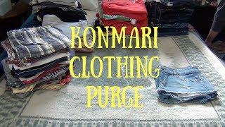 Video Clothing Purge KONMARI style | Donate, Sell & Keep download MP3, 3GP, MP4, WEBM, AVI, FLV Juni 2018