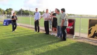 Guam Football Association signs the GVB Hafa Adai Pledge