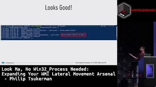 #HITB2018AMS D2T1 - Expanding Your WMI Lateral Movement Arsenal - Philip Tsukerman