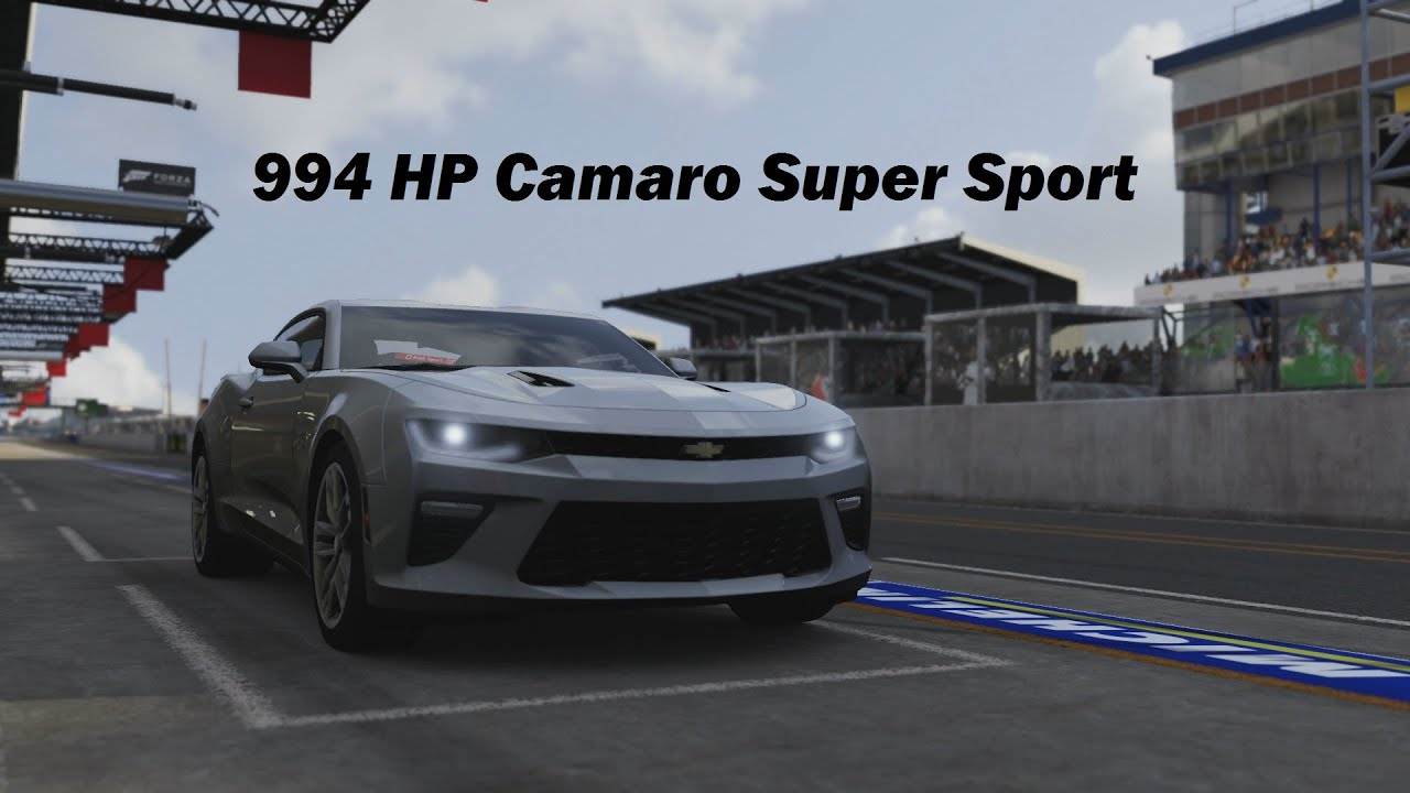 How Fast Will It Go? 2016 Chevrolet Camaro Super Sport (Forza 6 ...