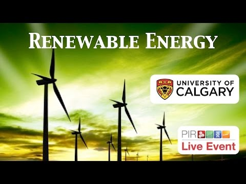 PIR Live Event - Renewable Energy (Dr. Wood)