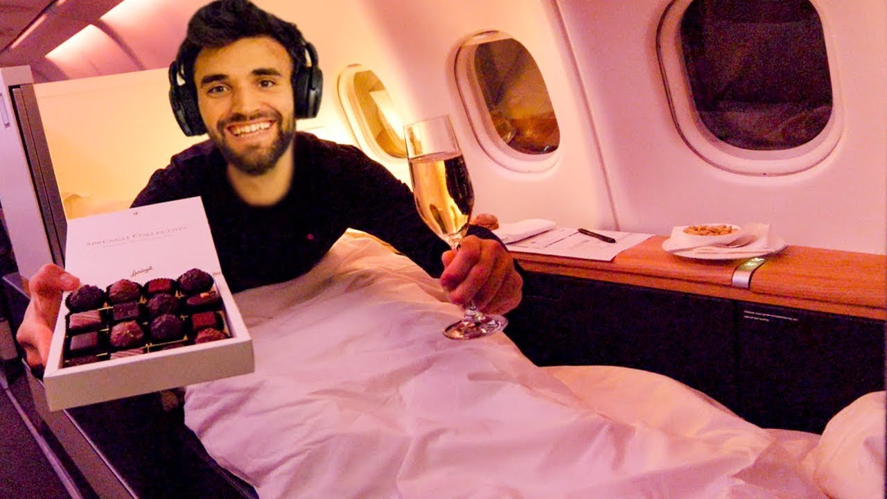 WORLD'S CHEAPEST FIRST CLASS AIRPLANE SEAT (Only $355)