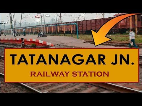 TATA, Tatanagar Junction Railway Station, India In 4k Ultra HD