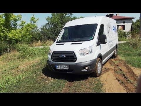 Test Ford Transit 4x4 Youtube