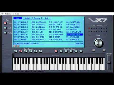 Yamaha SY77   AudioSEX - Professional Audio Forum