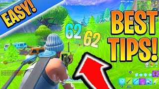 BEST Fortnite Strategy/HIGH KILL Rotation! Fortnite Ps4/Xbox Conseils et astuces! (Comment aller mieux)