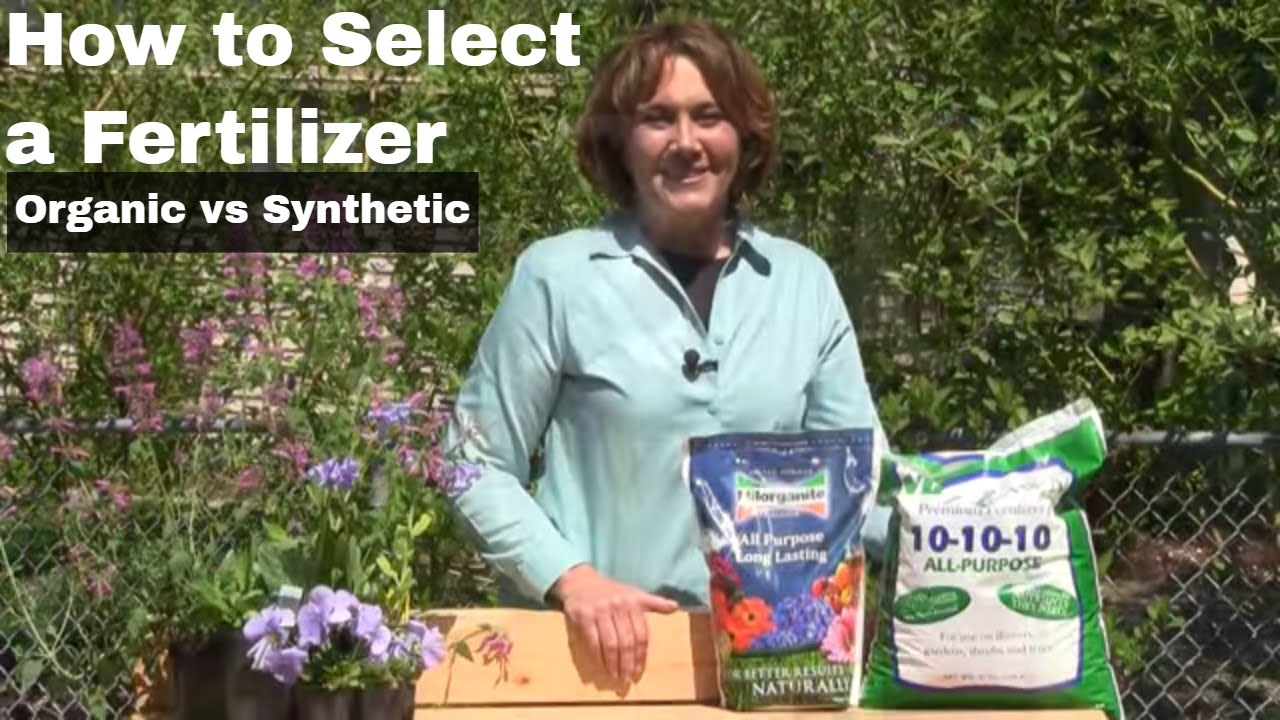 How to select a fertilizer organic vs synthetic youtube for Soil organic matter