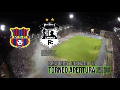 Resumen: Monagas SC 0-3 Zamora FC | Jornada 13- Apertura 2016