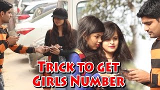 How to Get Girls Mobile Number Prank - Hot Girls - Pranks in India | THF - Ab Mauj Legi Dilli |