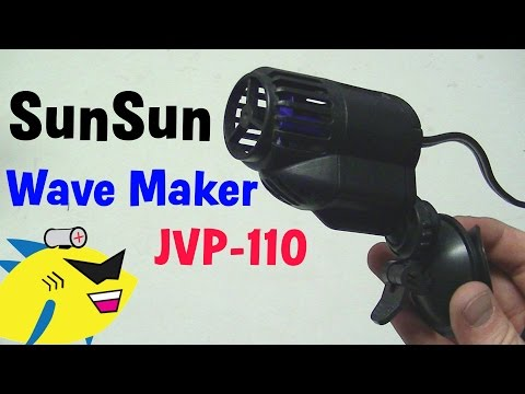 Aquarium Wave Maker Pump: SunSun JVP-110
