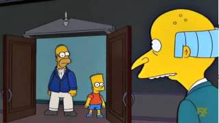The Simpsons - Monkey Knife Fight