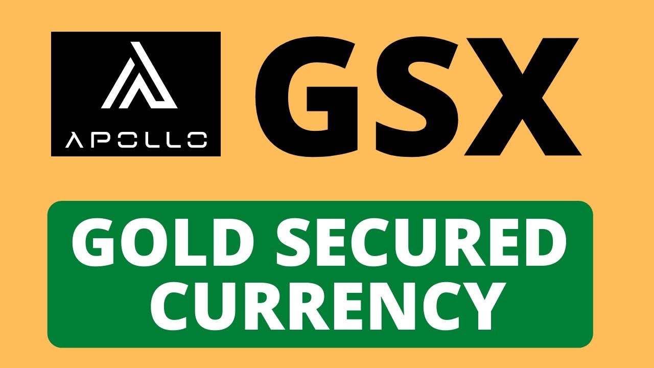 GSX- Gold Secured Currency || First Stable Coin That Increase in Asset Value Indefinitely