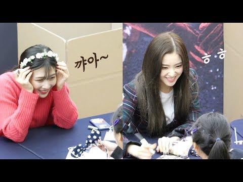 어린 팬과 만난 레드벨벳 Red Velvet meets Kid fan : Edited fancam : RBB 팬사인회 fansign event : 코엑스