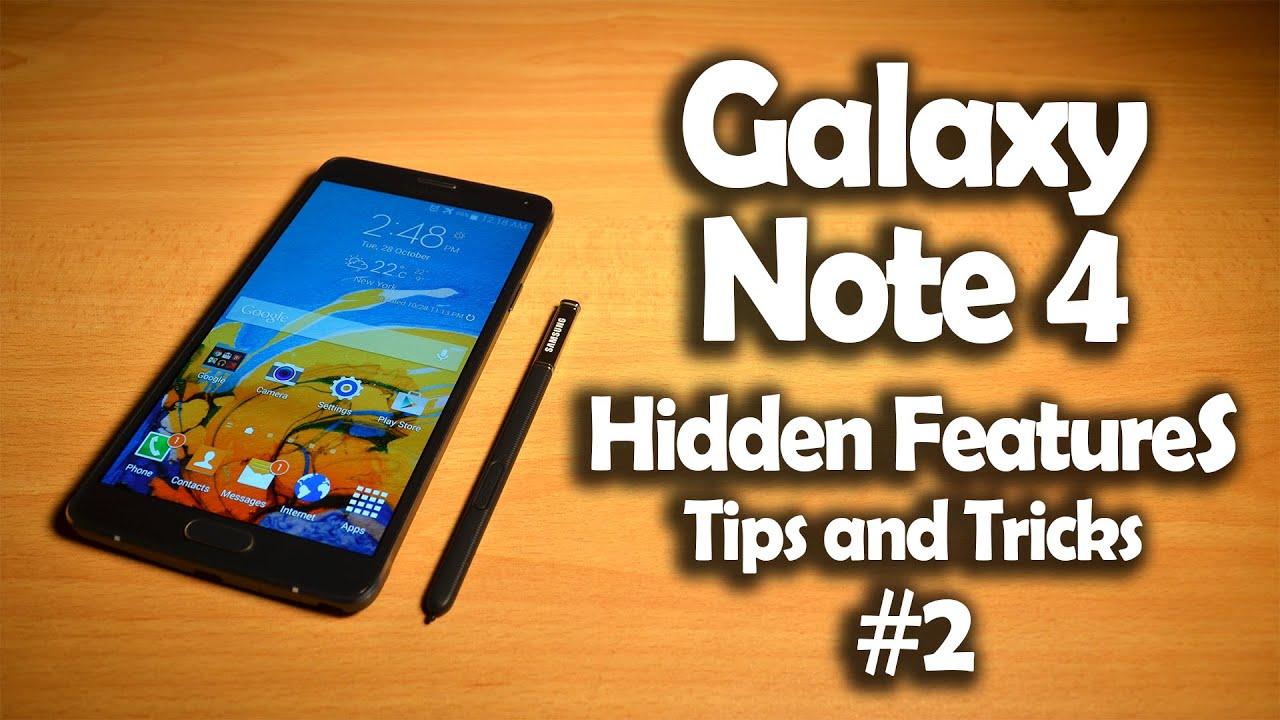 Samsung Galaxy Note 4 Hidden Software Features, Tips ...