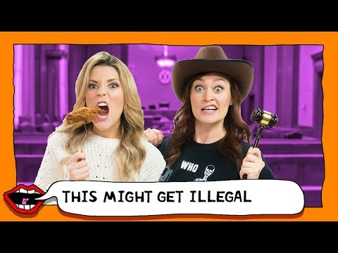 Download Youtube: BREAKING THE WEIRDEST LAWS IN AMERICA with Grace Helbig & Mamrie Hart