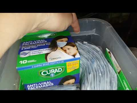 Antiviral Face Masks, An Important Medical Prep! What Did YOU Prep Today?  Pennsylvania Prepper