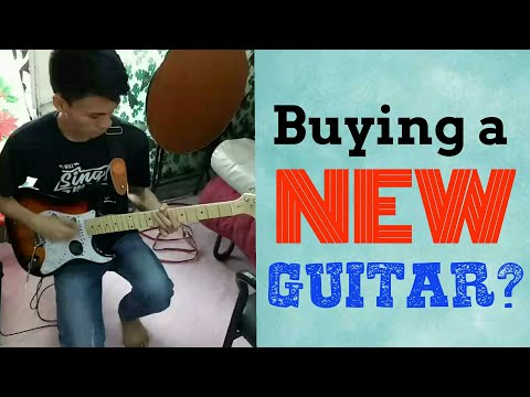 BUYING AN ELECTRIC GUITAR AT RAON (RECTO, PHILIPPINES) VLOG #1