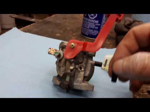 snowblower carburetor cleaning & tuning (part 1 )