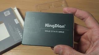 KingDian S400 120gb обзор SSD диск для ноутбука Acer aspire 5755g Замена HDD на SSD