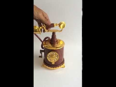 Music Box Antique Telephone Clasic Song
