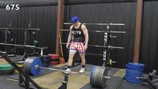 John Haack: 440lb Bench Press and 675lb Deadlift at 189lbs