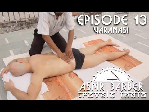 Indian Massage at Ganges Banks - ASMR no talking Video