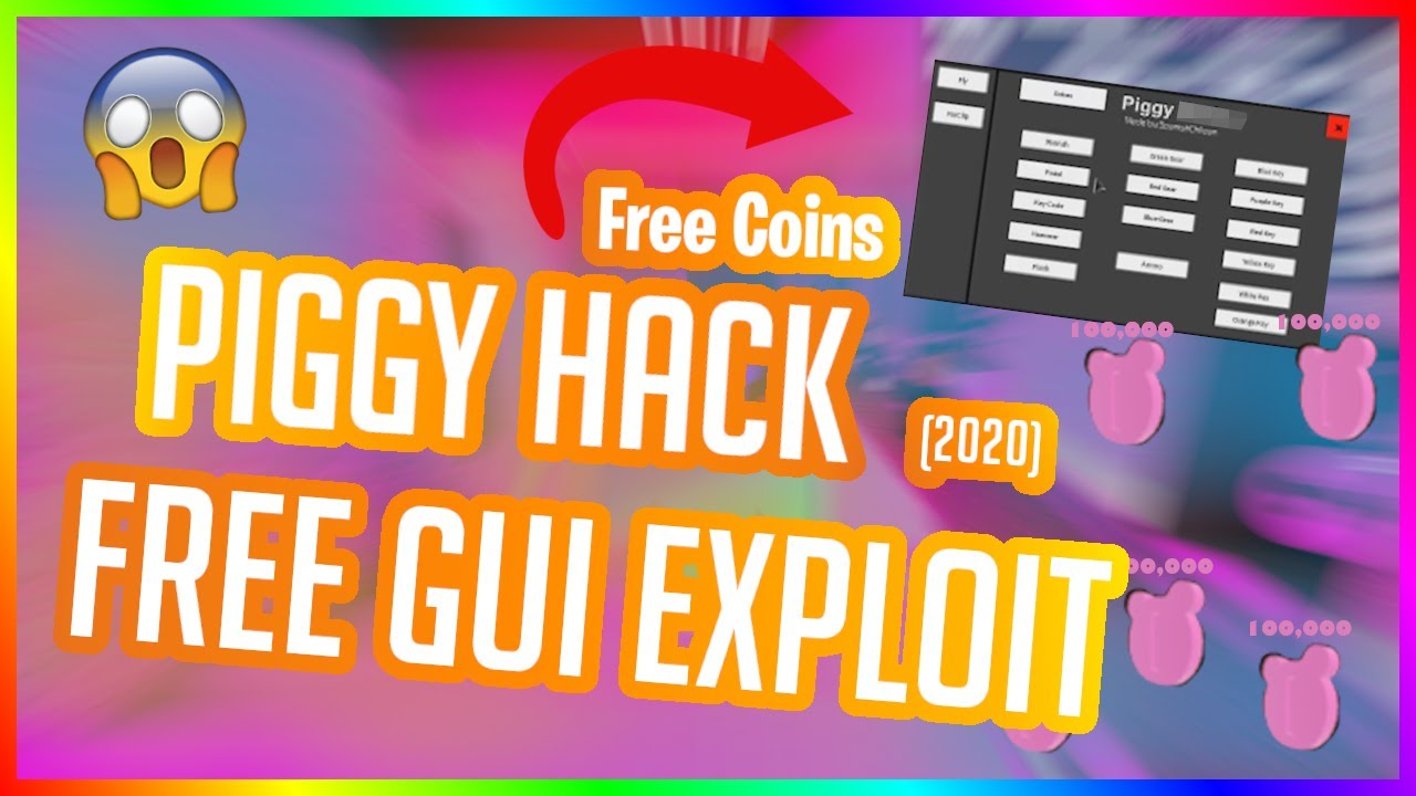 comment hacker roblox 2020 Roblox Piggy Hack Gui Free Hack Script 2020 Youtube