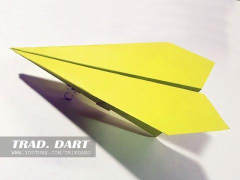Cách gấp máy bay giấy cực dễ – Kiểu Truyền Thống – Trẻ Em Việt Nam nào cũng Nên Biết | Mũi Tên Bạc
