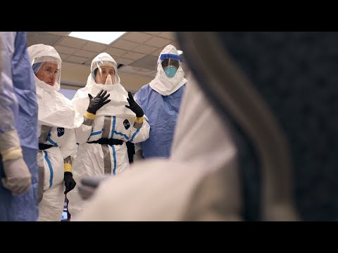 Ebola Patient Transport Drill | Johns Hopkins Medicine and Lifeline