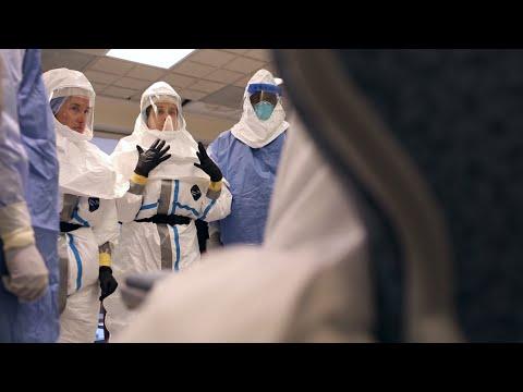 Ebola Patient Transport Drill | Johns Hopkins Medicine and Lifeline